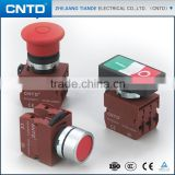 CNTD Various Color 16MM 22MM 30MM Optional Industrial Power Push Switch (C2PNF)