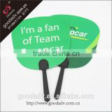 China wholesale summer promotion item custom design pp fan for sale