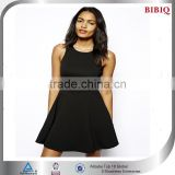 Lady Black Vest Dress ,Sexy Sleeveless Club dress
