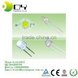 [Ultra Bright] 5mm LED Light Emitting Diodes LEDs Bulb Electronics Clear White (500 Pcs)