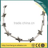 Guangzhou Barbed Wire Jewellery/ Barbed Wire Taut Wire/ Low Carbon Steel Galvanized Barbed Wire