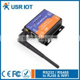USR-WIFI232-610 Serial Wifi Device Server Serial to RJ45 Converter with RS232 RS485 Interface