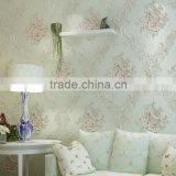 Home design rural glitter flower beautiful wallpaper for home