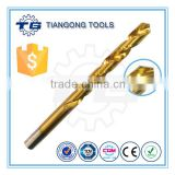 DIN338 DIN340 DIN1897 DIN1869 ASME Aircraft Extension Extra Length M35 TiN Coating Drill Bits