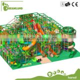 Exciting and interesting!!! Big commercial jungle indoor playground                                                                         Quality Choice