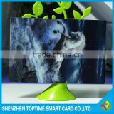 100lpi flipping 3D lenticular greeting card for festival