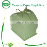 Trade Credit Insurance!!! Xiamen factory custom printed craft paper house shape box for gift, wax, soap