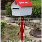 JHC-12102 Mailbox/Foshan JHC-12102 stainless steel mailbox/metal mailbox for letters/cast aluminum mailbox