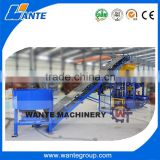 WANTE BRAND simple industry equipment QT4-24 automatic concrete block making machine with high capacity                                                                                                         Supplier's Choice