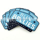 Fast delivery Custom Waterproof pvc vinyl die cut polypropylene sticker,customized labels for jewelry --DH20318