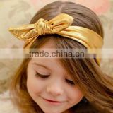 Baby Knot Headband, Baby Headwrap, Gold Headband, Baby Gold Headwrap, Girls Headband, Girls Headwrap, Many Colors to Choose From