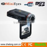 China manufacturer 2inch super wide-angle IR lights 16 ir led night vision hd car dvr x5000
