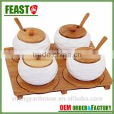 2015 NEW design decorative wooden spice rack