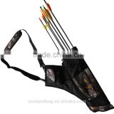 Camo Archery Arrow Quiver Bow Bag Traditional Archery Supplies pouch For Arrows