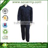 Wholesale smocked clothing boiler suits poly cotton mix fabrics anti-static rip stop safety men's industrial work coverall