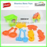 Plastic Toys Sand Beach Bucket Set Toys 9pcs BNW300167
