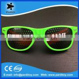 Hot Sell Lens Printing Sunglasses With Custom Logo Lens Pinhole Sticker funny party glasses                                                                         Quality Choice