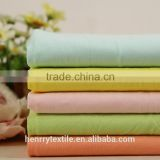 40S Cotton Spandex Knitted Single Jersey Fabric for T-shirt