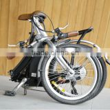 folding bike mudguard,2014 new good quality aluminum frame 6 speed,20inch lightweight mini folding bikes manufacturer