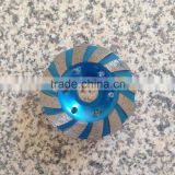 4 inch Metal Diamond Cup Wheel Grinding Disc Abrasive Tools For Concrete Granite Marble Floor Cups Body Thickness 6.0 mm