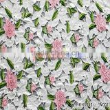 Embroidery Factory Textile Fabric Clothing Fabric For Wedding Dress / Curtain/ Table Cover