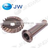 Good quality spiral bevel gear gearbox auto parts alloy steel spiral bevel gear machine gears