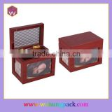 New Design Wood Souvenir Gift Box / Sweet Memory Photos Jewelry Storage Gift Box (WH-2253-2)