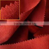 100% polyester double sided brushed microsuede fabric/ sofa fabric/ home textile/ furniture fabric/ fabric sofa