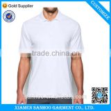 Wholesale Bulk Plain White 100% polyester Fitness Polo Shirts Quick Dry T Shirt High Quality