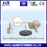 magnetic hook round magnet