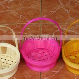 Handmade Fruit Strorage Weaving Bamboo Basket