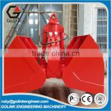 ce approved widely used low price trade assurance quality 1-3 cbm sand/soil/gravel/rubble excavator bucket grapple