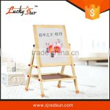 magnetic free standing notice board stand/sign drawing board stand/ foam drawing board stand