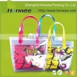 china wholesale custom eco jelly rope handle pvc beach tote bag                                                                                         Most Popular