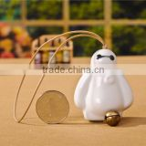 Lovely Ceramic Baymax Shape Wind Chime