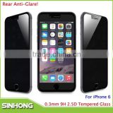 Wholesale Cell Phone Accessory For iPhone 6 Anti Glare Screen Protector