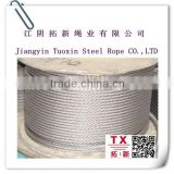 3mm pvc coated galvanized steel wire rope /hot selled stainless steel wire rope (PVC & Nylon coated ) /PVC Coated Galvan