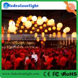 High quality colorful kinetic system balls lights dmx winch