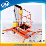 Most Convenient And Safety Electric Air Conditioning Weigh Lifting Platform Equipment For 6-12 Meter