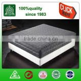 Hotel bedroom mattress, home mattress,3D king size pocket spring and latex compressed mattress
