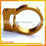 Laser machining and cnc machining high quality aluminium cold forging parts