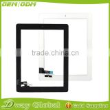 Spare Parts touch panel for apple ipad 2 touch screen digitizer sensor with home buttom assembly
