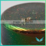 Wholesales gemstone processing Synthetic clear green common opal rough gemstone raw material