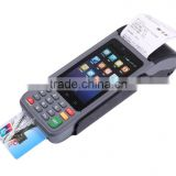 Handheld POS termial/Data collector with thermal printer/barcode scanner for parking industry/pre-booking for parking lots
