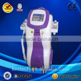0.5HZ 2015 Slimming Machines With Nd Yag Laser Machine Skin Care Cavitation+ Lipolysis +Vacuum+RF 1MHz