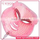 EYCO BEAUTY led facial mask 7 colors facial mask Popular blue light acne treatment reviews light mask for acne