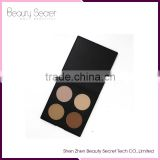 Custom logo 4 color makeup glow kit foundation concealer contour highlighter palette