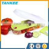 Wholesaler vegetable peeler slicer super sharp plastic mandolin chopper slicer