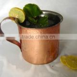 1 MOSCOW MULE COPPER MUG FOR VODKA BEER BRANDS