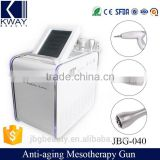 2016 Newest Needle Free Anti-aging Mesotherapy Gun Electric Microneedles Beauty Machine
